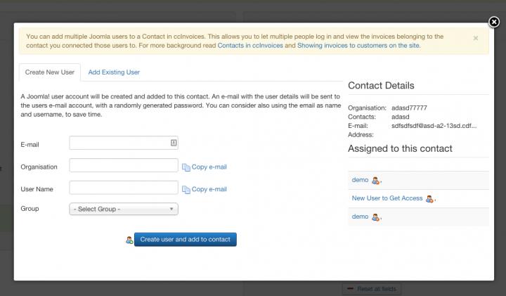 manage users ui